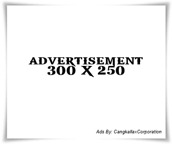 Banner 300 x 250 - By Cangkallax Corporation
