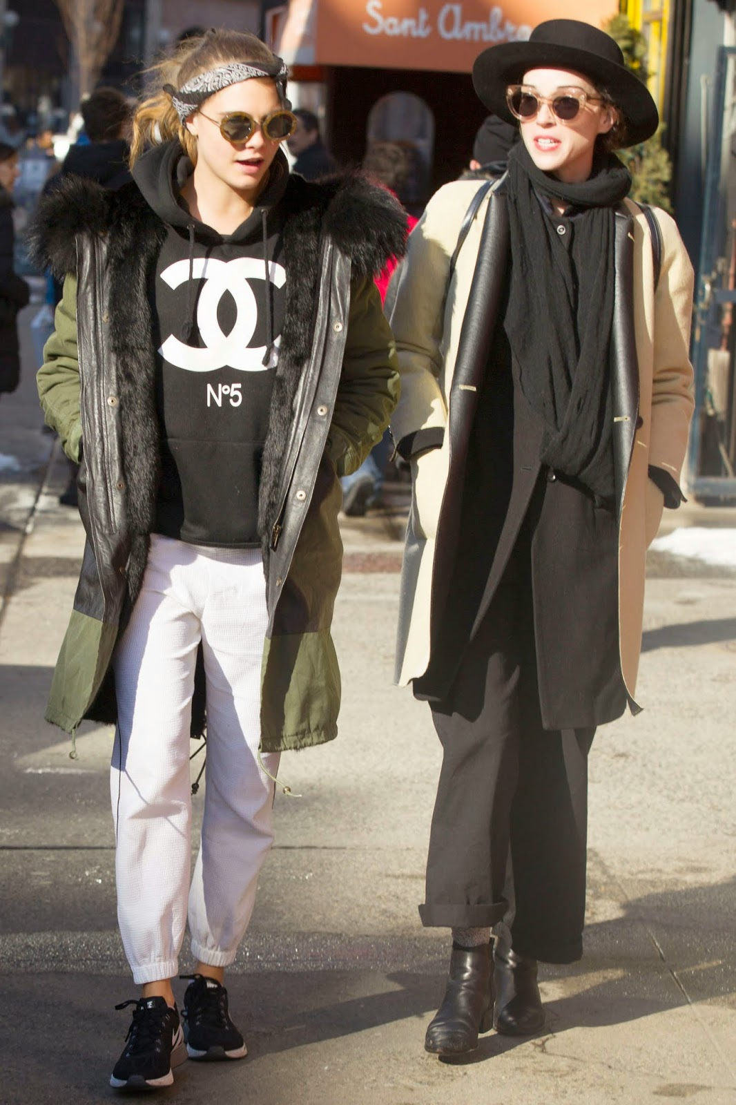 Cara Delevingne spotted with new girlfriend out and about in New York