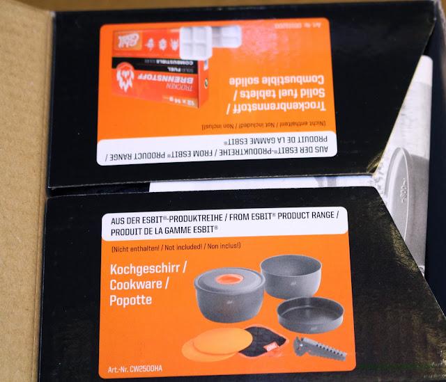 Esbit 5-Piece Trekking Cook Set - In Box 4