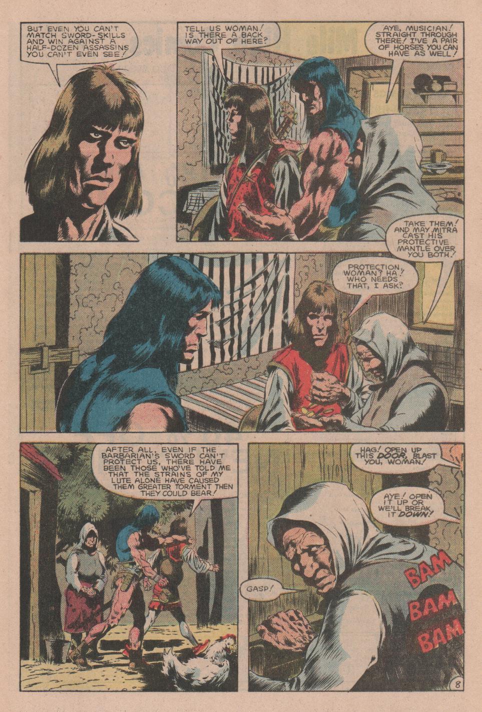 Conan the Barbarian (1970) Issue #160 #172 - English 9
