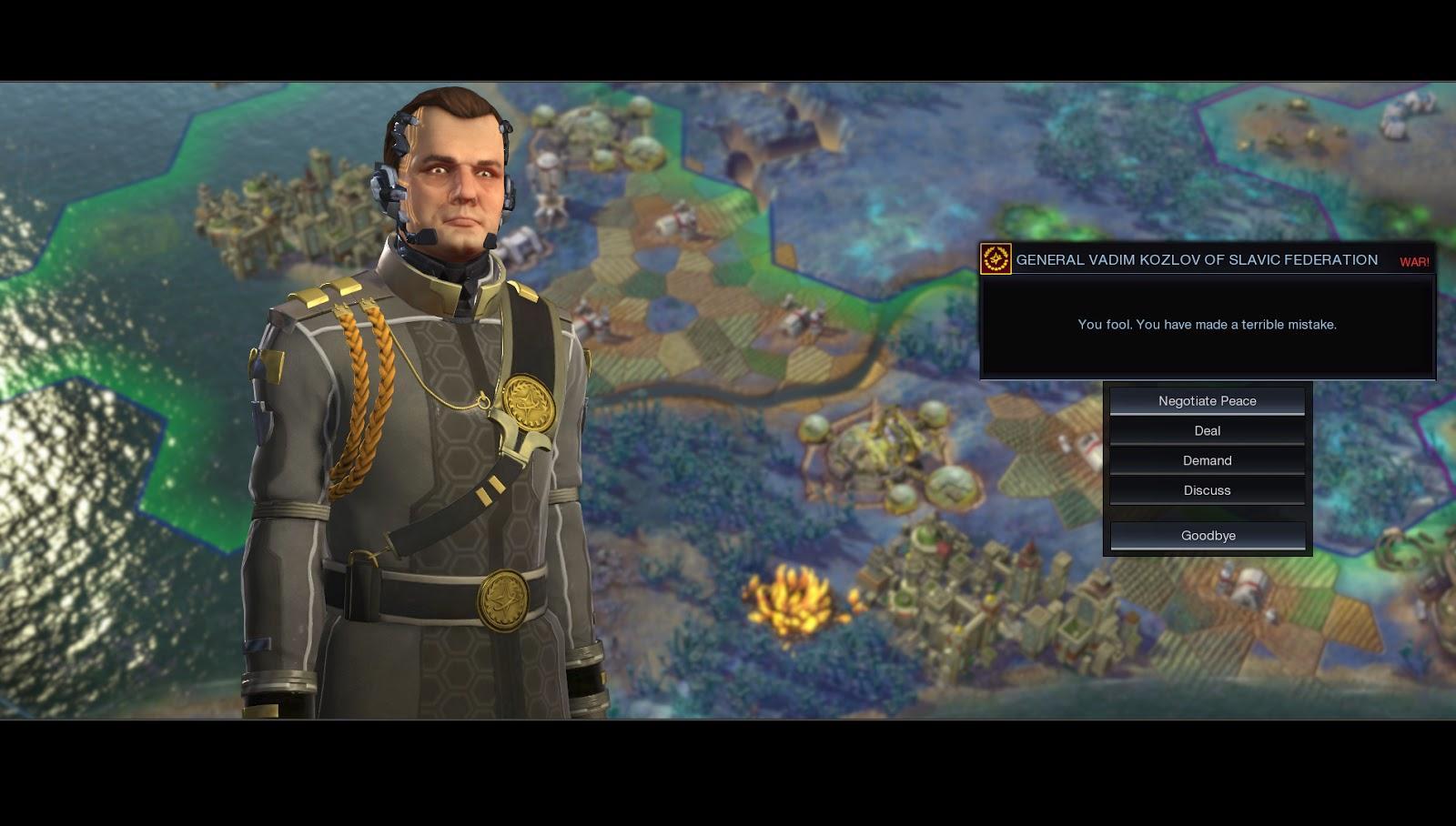 Sid Meiers Civilization: Beyond Earth gameplay