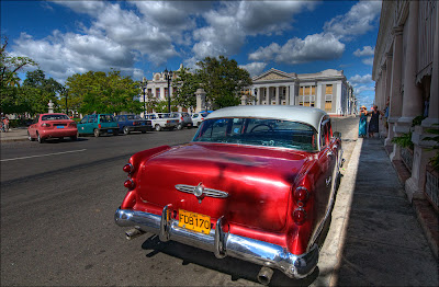 Another vintage car in Cuba