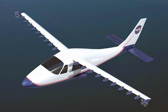 Tecnam-Nasa electrico