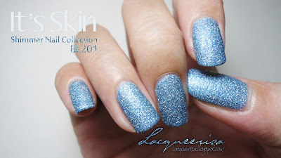 Lacqueerisa: It's Skin Shimmer Nail Collection BL201