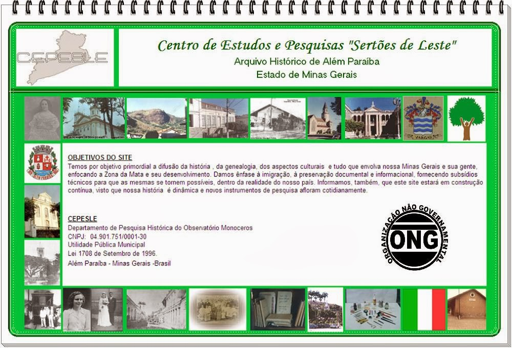 Arquivo-MG.ORG - CEPESLE - Centro de Estudos e Pesquisas Sertões de Leste