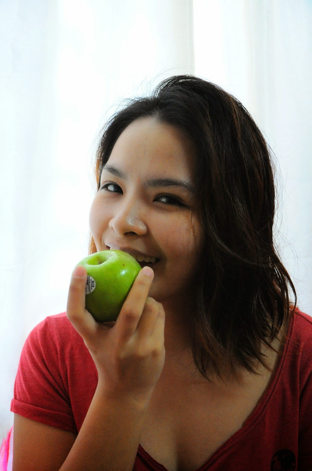 eat green apple