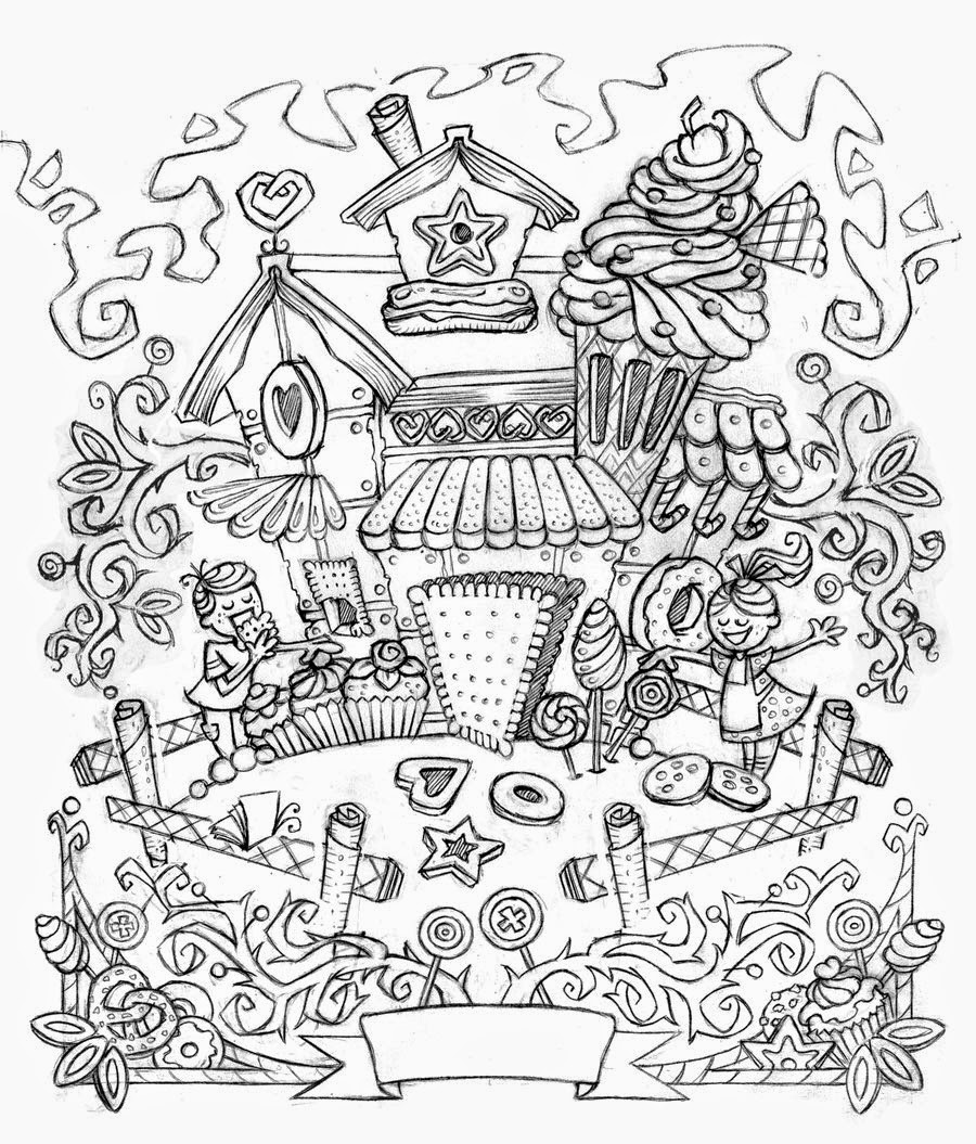Hansel And Gretel Coloring Pages Printable