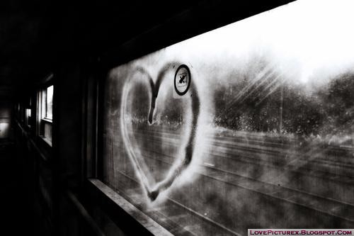 alone, sad, heart, love, cute