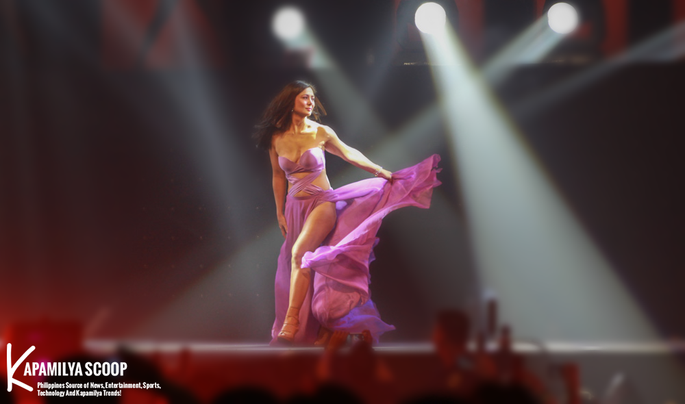 "Alice Dixson 44-year-old former ""Dyesebel"" star, almost suffered a wardrobe malfunction while ramping on the cat-walk during her turn on the FHM Victory Party on Wednesday, July 9, 2014 at the World Trade Center in Pasay City."