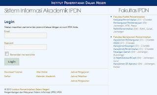 Sistem Informasi Akademik IPDN