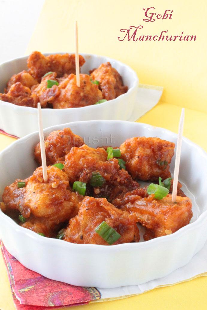 ... Ideas, and more: Gobi (Cauliflower) Manchurian – Indo-Chinese Food