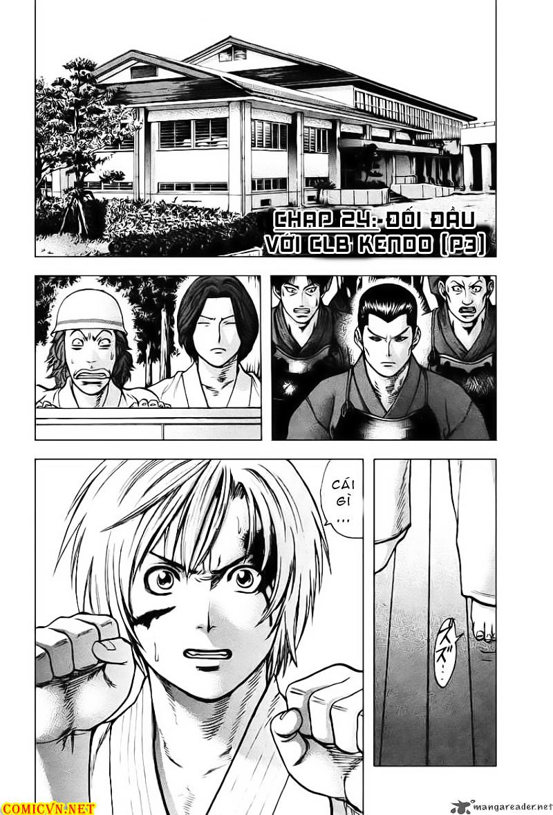 Karate Shoukoushi Kohinata Minoru chap 24 Trang 3