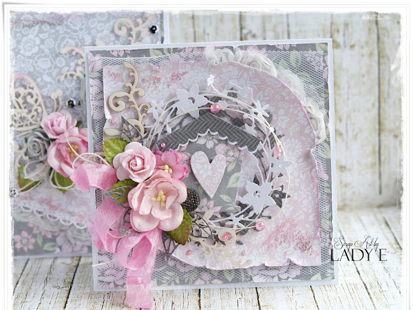 Two Messy Cards - Wild Orchid crafts DT