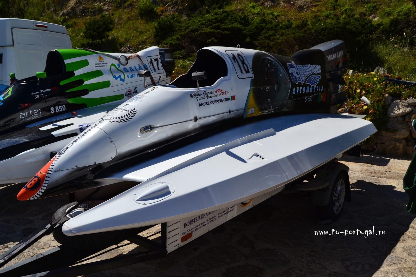 скоростные лодки в Португалии