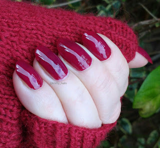 HJ Manicure Red Wine
