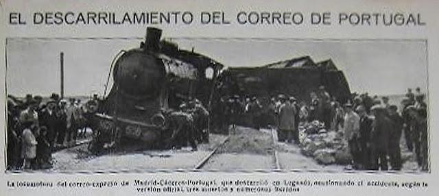 Siniestro ferroviario en Leganés