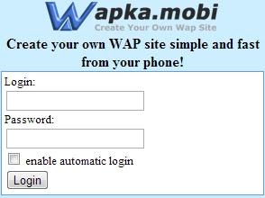 wapka dating site