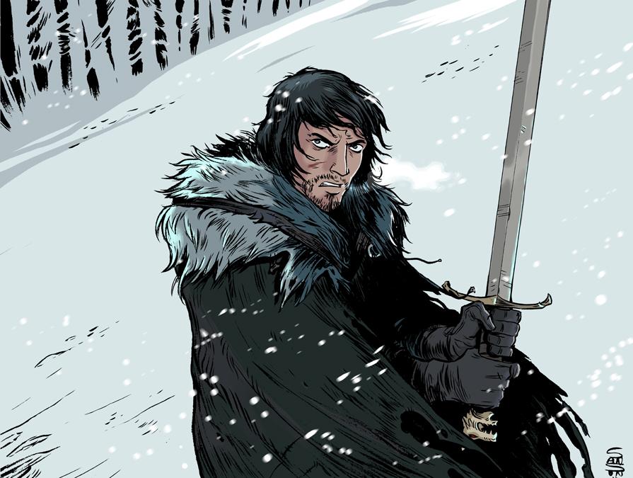 Jon snow and Tywin Lannister