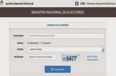Padrón Electoral 2015: se habilitaron los padrones provisorios para hacer consultas y reclamos