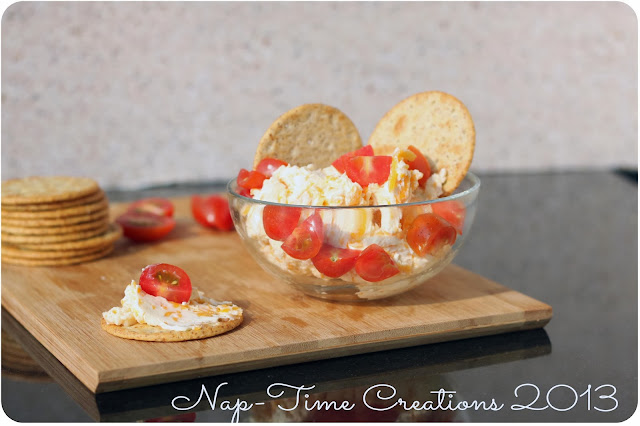 Garlic Cheese Dip {Nap-Time Creations}
