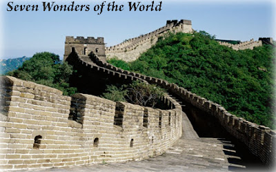 Seven Wonders of the World - The Great Wall of China