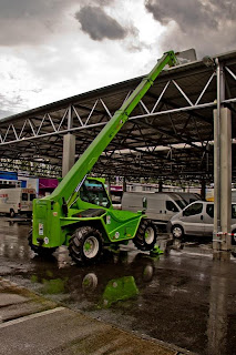 Forklift with Telescopic Hydraulic Arm - Merlo