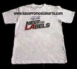 T-Shirt Promosi Meet d'LAbel