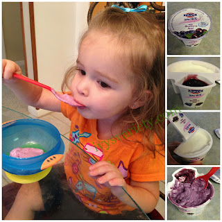 Blueberry Acai FAGE, toddler approved
