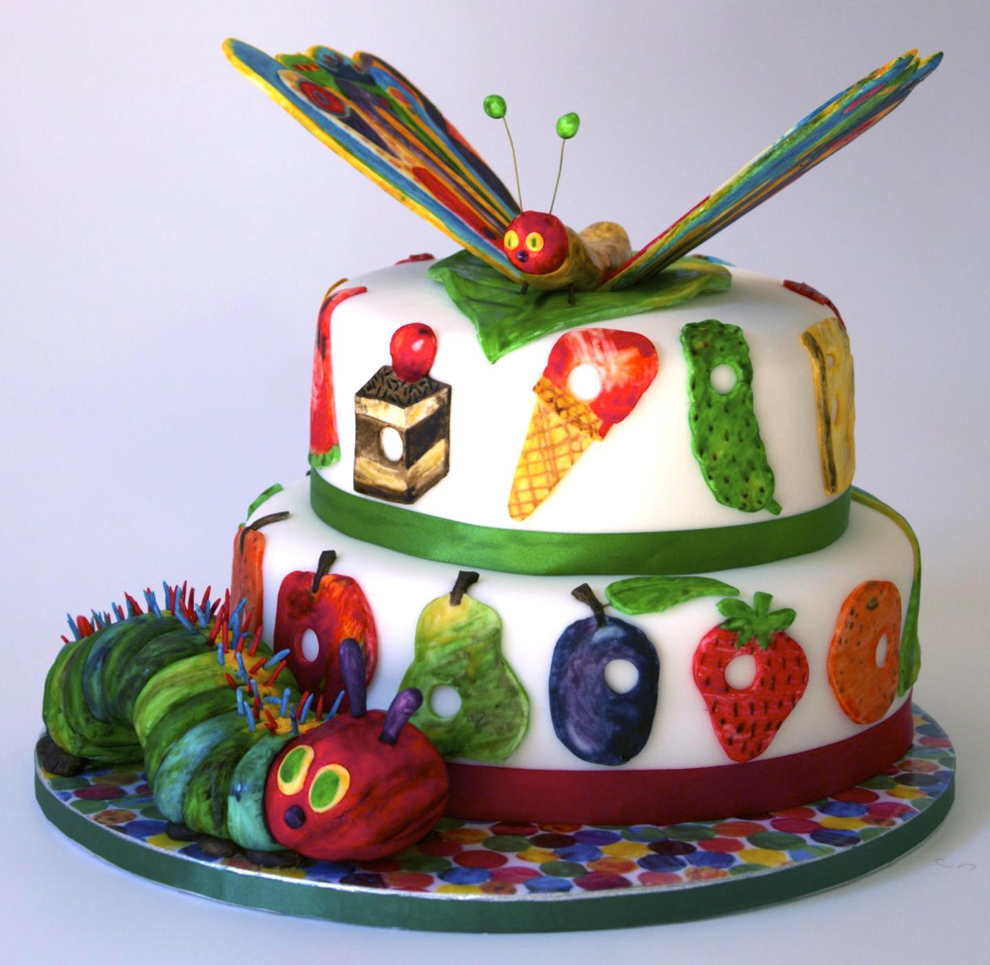 The Very Hungry Caterpillar Chocolate Cake