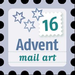 Advent mail art