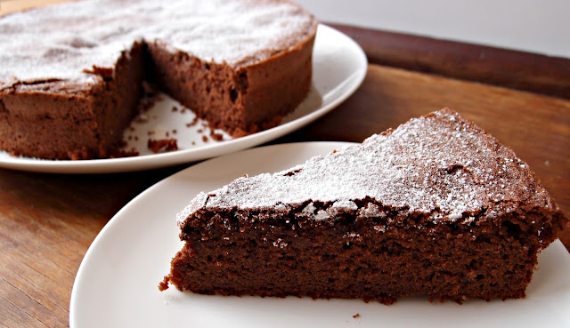 Milk and Honey: Chocolate Buckwheat Cake (Gluten Free)