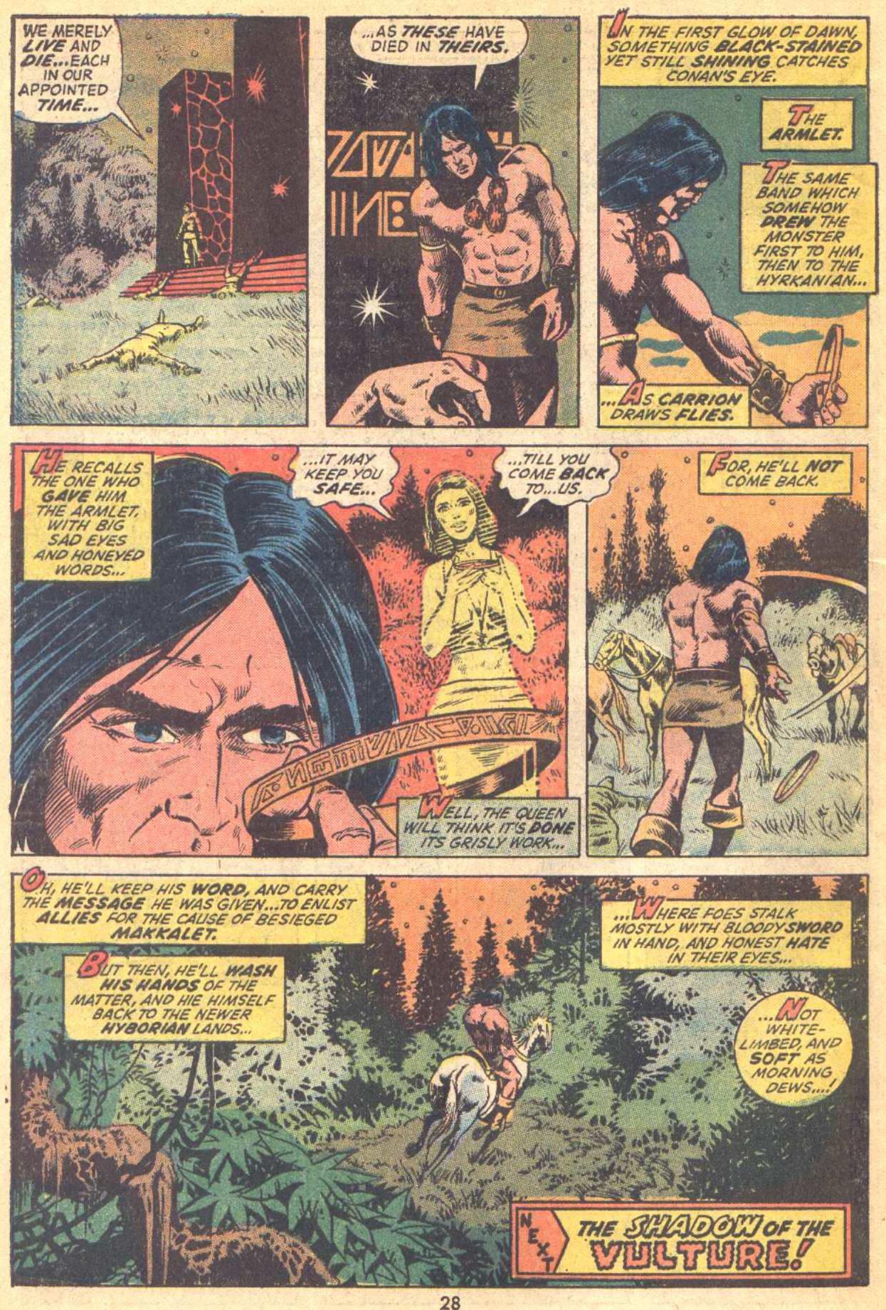 Conan the Barbarian (1970) Issue #21 #33 - English 21