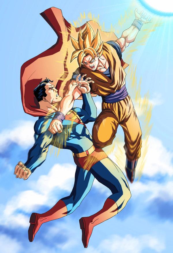 Similitudes entre Superman y Goku otro post de ellos