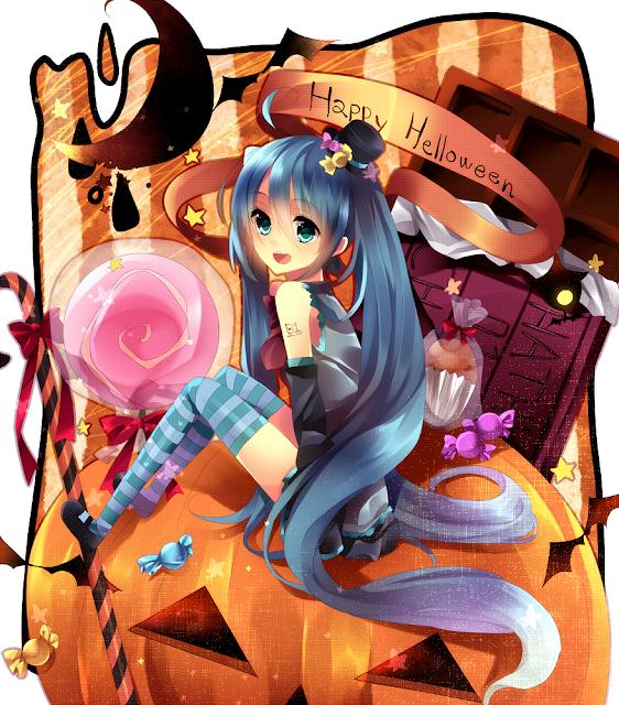 Vocaloid Halloween Miku