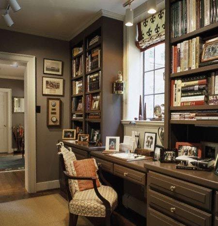 Simple Home Office Decorating Idea