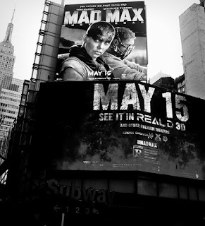 Mad Max Fury Road poster, NYC