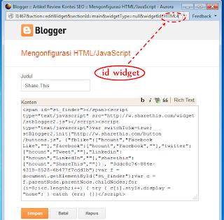 Konfigurasi HTML