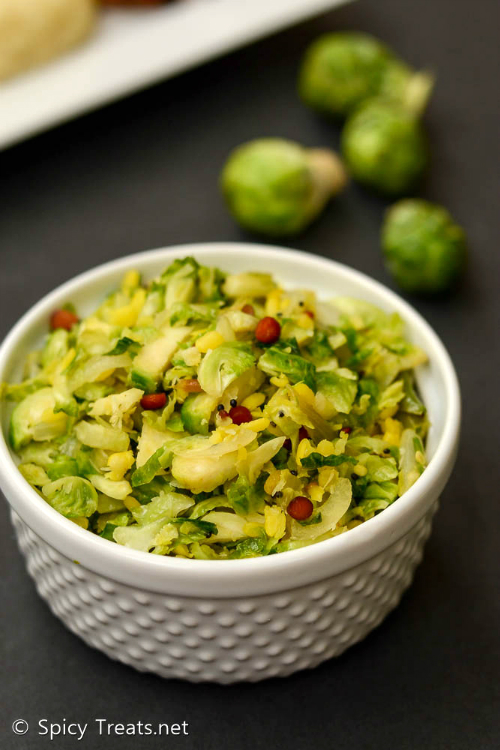 Brussel Sprouts Poriyal