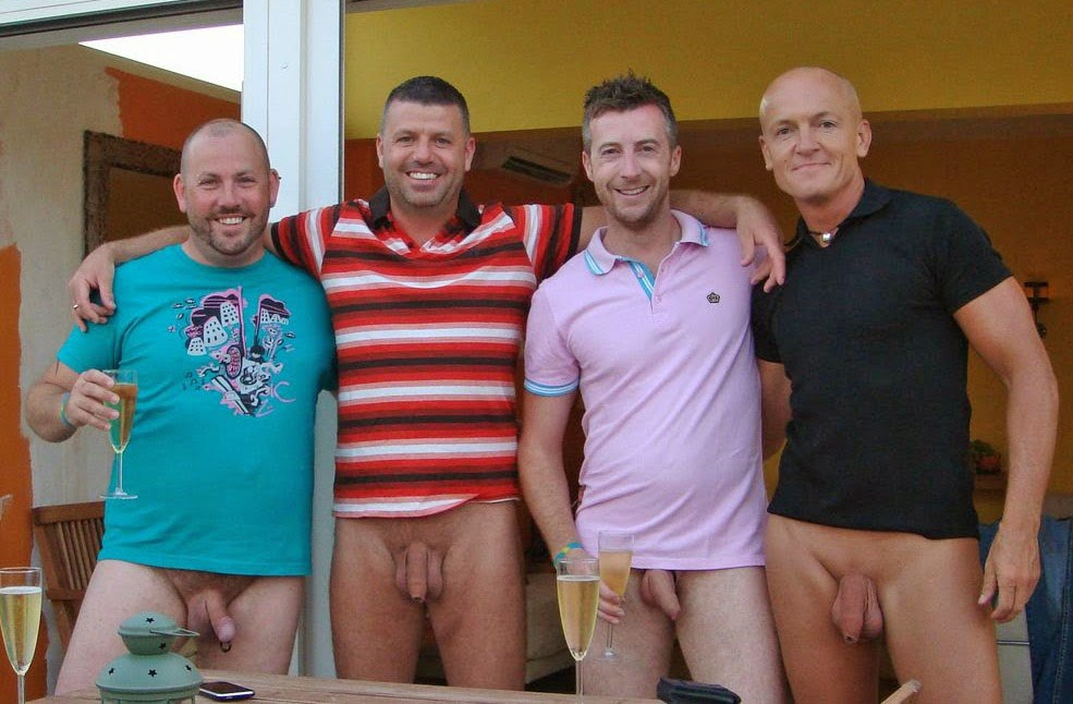 from Johnny men nude with buddies