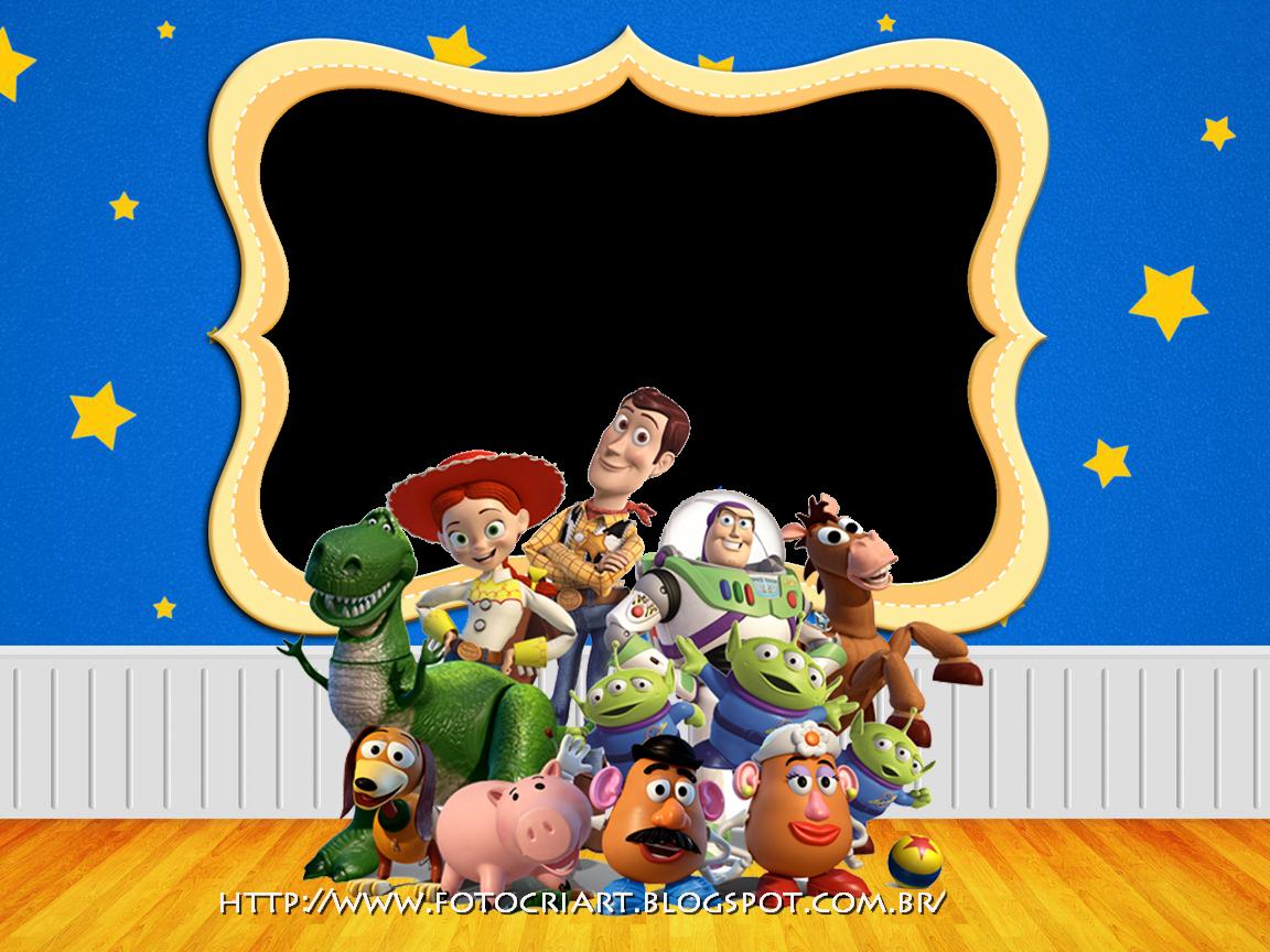 Fotocriart: Molduras Toy Story