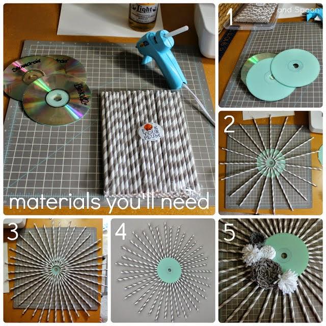 reciclando cd e dvd