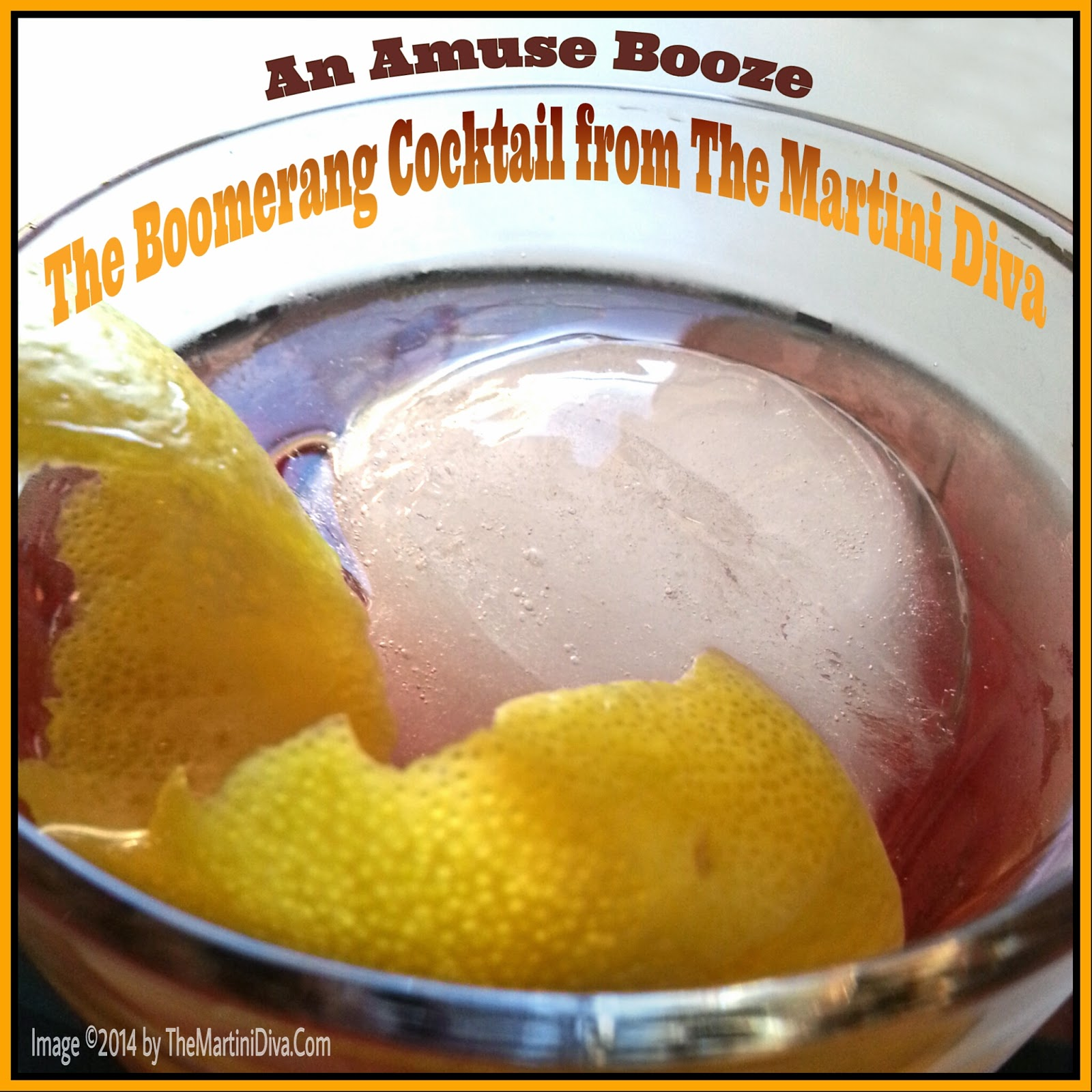 The Martini Diva What 39 S The Deal With Boomerang Cocktails