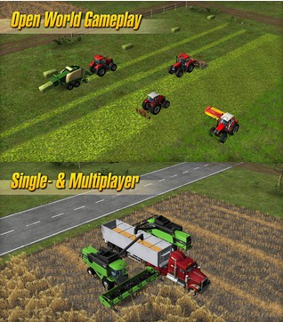 Free Download Farming Simulator 14 v1.2.8 Full Apk