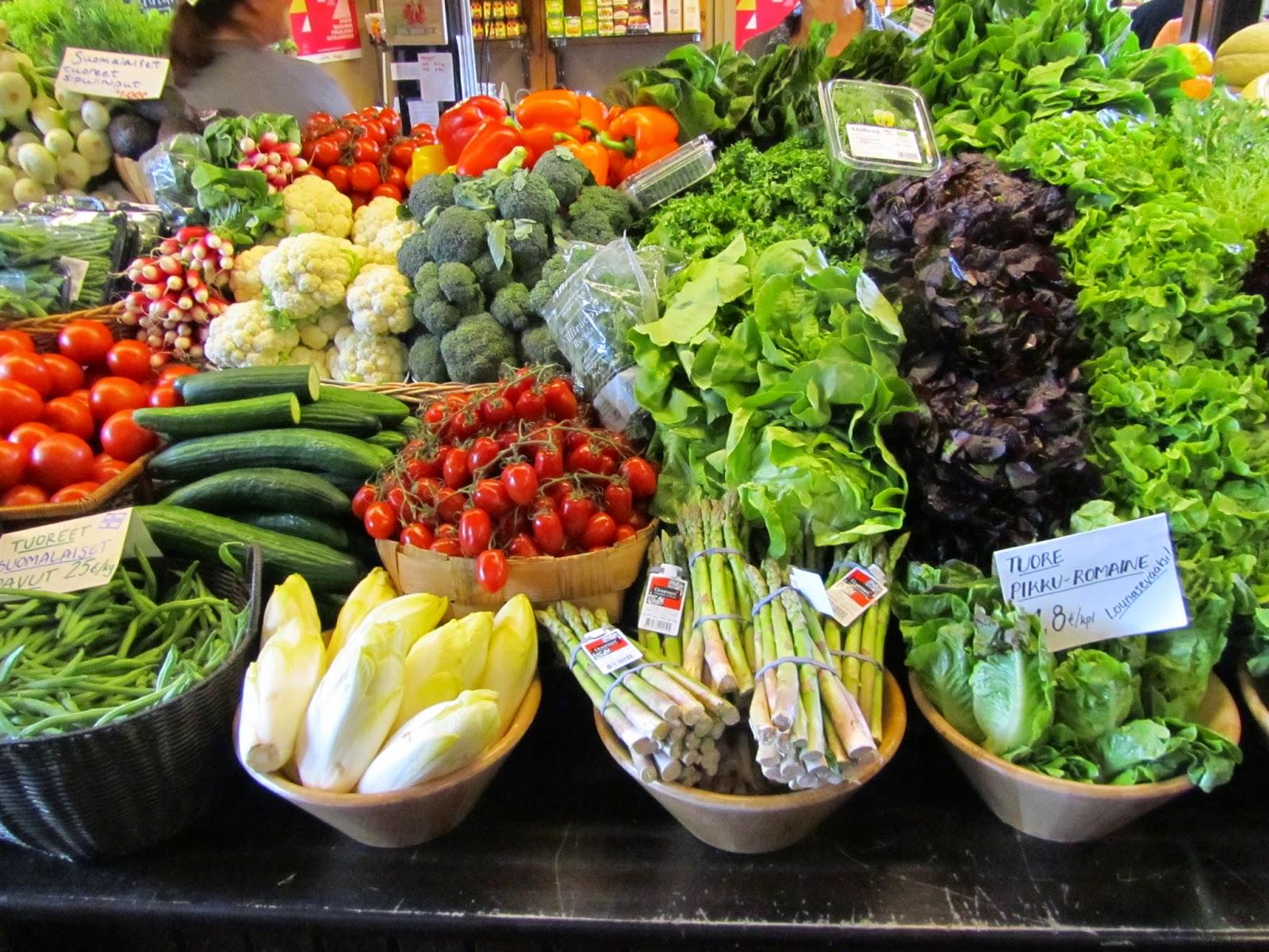 Sata reseptiä kasviksista ja hyvää ruokavuotta 2015