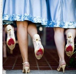 туфли подружек невесты