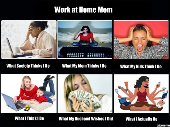 Work from home with