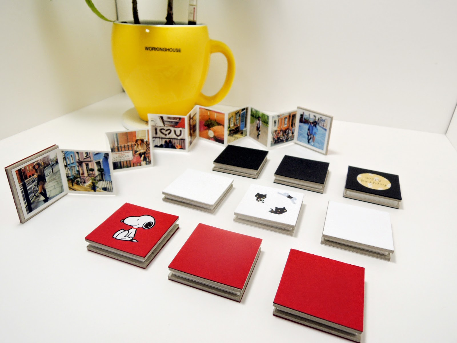 Magnet book for instagram -photo gift