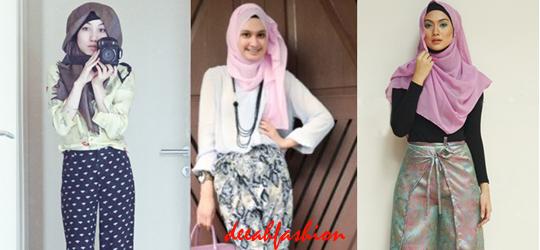 Cara Terlihat Tinggi Tips Baju Muslim