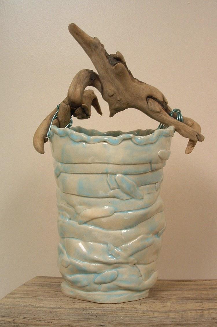 Driftwood Handled Basket