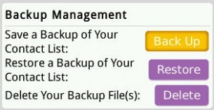 Cara Backup Contact BlackBerry Messenger